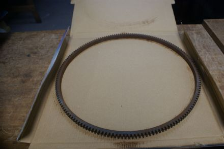168 Tooth Flywheel Ring Gear,Used